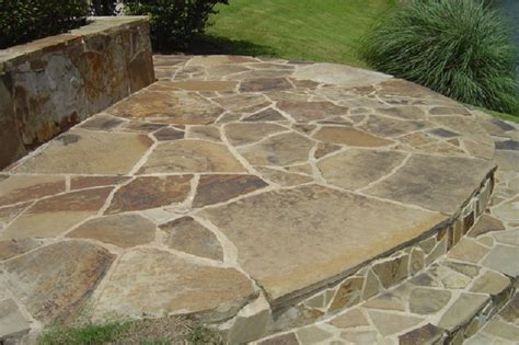 flagstone rock mahogany patio flagstone empire stone company