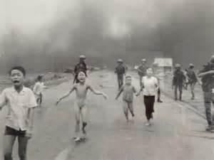 Vietnam War Napalm Girl