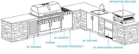 outdoor kitchen plans kalamazoo outdoor gourmet