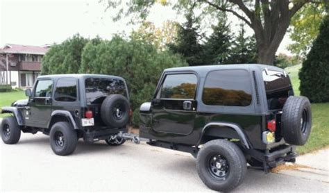 jeep cing trailer jeep wrangler cer trailer tj yj hunting fishing