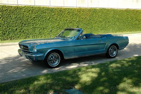 1965 Ford Mustang A Code Convertible