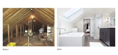 Attic Remodeling Before And After