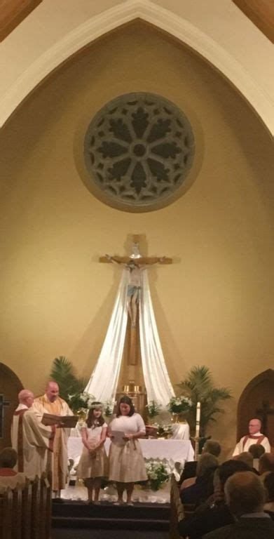 palm sunday triduum easter  st edmond roman