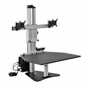 electric kangaroo elite sit stand workstation stretch now