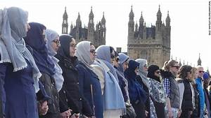London's Muslim women stand with terror attack victims - CNN