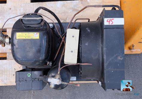 demontage chambre froide compresseur pour chambre froide avec gaz r134 ref 45 à
