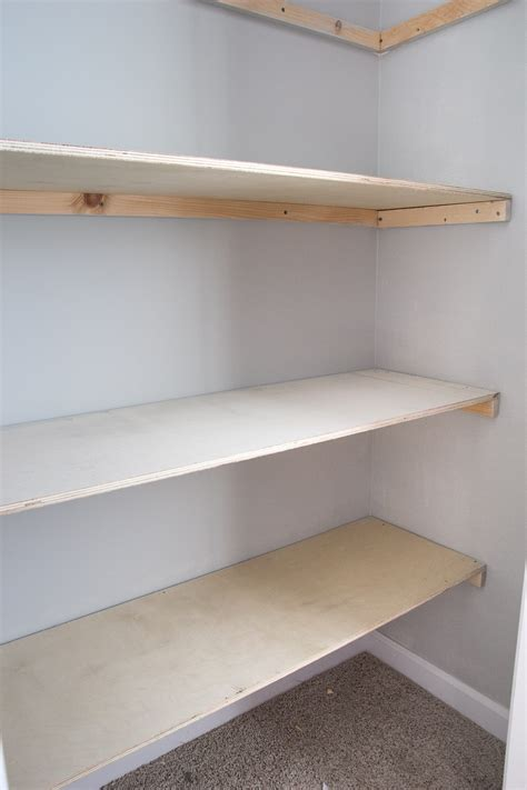 how to build closet shelves basic diy closet shelving