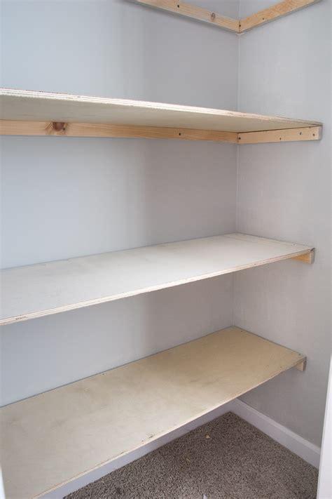 Basic Diy Closet Shelving
