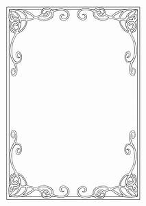 Art nouveau frame | Patterns, Texture & Mark Making ...