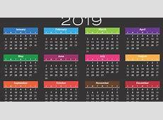 Calendario de días festivos en Venezuela Calendario 2019