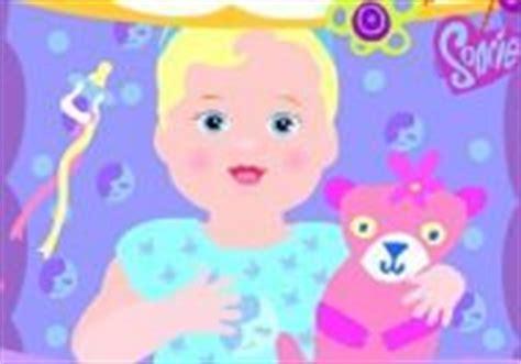 Esta bratz es la animadora jefa en su colegio y hoy. Jugar al juego ¡Vamos a cuidar al Bebe! gratis