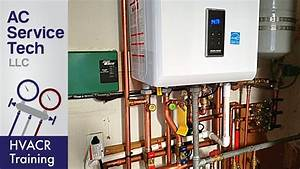 Installation Of A Tankless Boiler  Water Heater