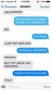 17 Texts That Prove Drunk People Are Hilarious BlazePress