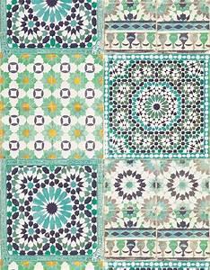 Papier Peint Vinyl Imitation Carrelage : carreaux ciment saint maclou le motif carreaux de ciment ~ Premium-room.com Idées de Décoration