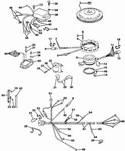 Evinrude Ignition System Parts For 1988 100hp W100wtxm