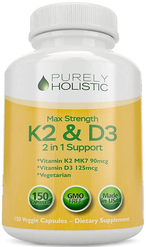 Solar essence delivers a solid 5000 ius of vitamin d3, and in addition, it delivers 80% of your vitamin k2 needs for the day, which is a micronutrient that's often lacking in older adults, making it an easy winner in this category. Best K2 Vitamin D3 - Cree Home