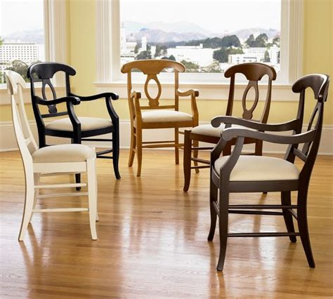 napoleon upholstered chair traditional dining chairs