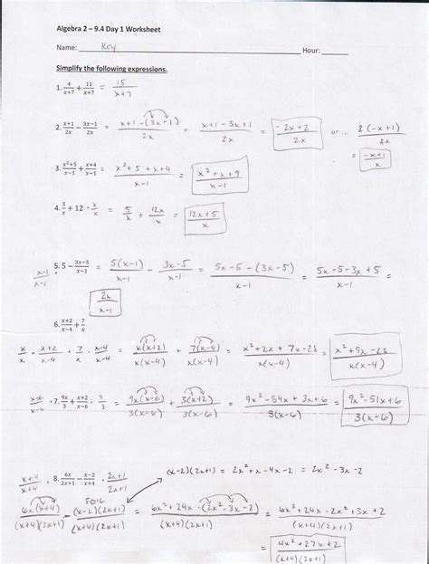 finding x and y intercepts worksheet day 1 answers kidz