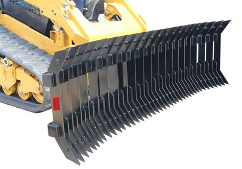 stick rake rear ripper attachment  skid steer tractor mini loader backhoes  australia