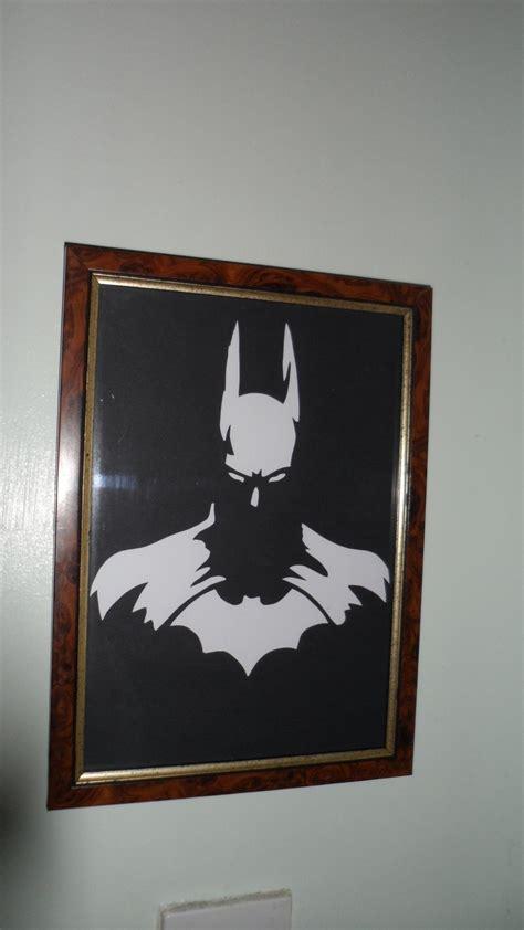 batman silhouette frame    silhouette art art