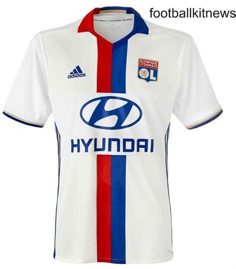 New Lyon Jerseys 2016-17 | OL Adidas Home & Away Kits 16 ...