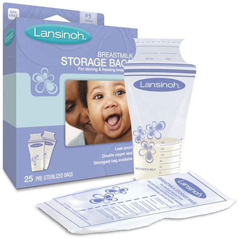Lansinoh Breastmilk Storage Bags 25 Pre Sterilized Bags