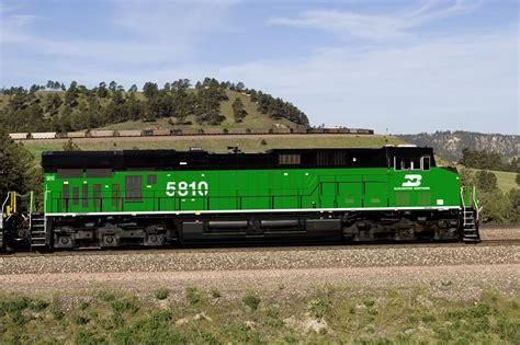 bnsf  time  heritage locomotives trains magazine