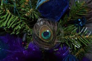 what you make it peacock themed tree