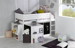 Lit Bureau Enfant : set complet enfant paraiso blanc idkid 39 s ~ Farleysfitness.com Idées de Décoration