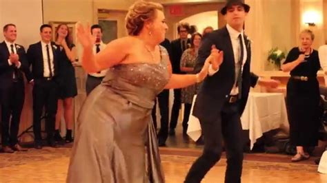 The Best Mother Son Dance Ever!!! Awwww Nice