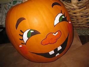 Halloween Kürbis Bemalen : cute pumpkin faces use basic colors or not so basic it 39 s your pumpkin be creative ~ Eleganceandgraceweddings.com Haus und Dekorationen
