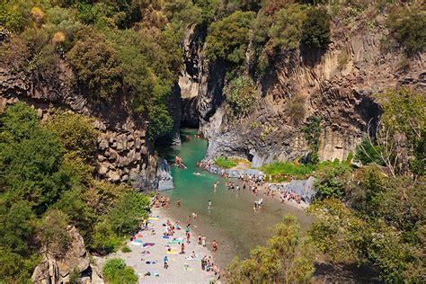 The Alcantara Gorges Wish Sicily