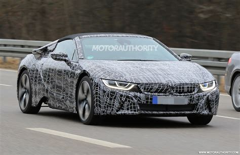 BMW 2019 : 2019 Bmw I8 Roadster Spy Shots