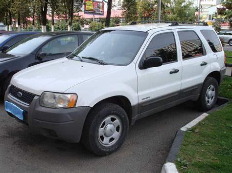 Ford Escape 2001 by 2001 Ford Escape Photos 2 0 Gasoline Manual For Sale