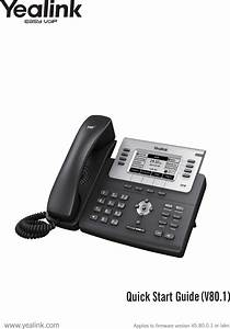 Yealink T27g Ip Phone User Manual 1