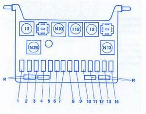 Alfa Romeo Spider 1994 Engine Fuse Box  Block Circuit