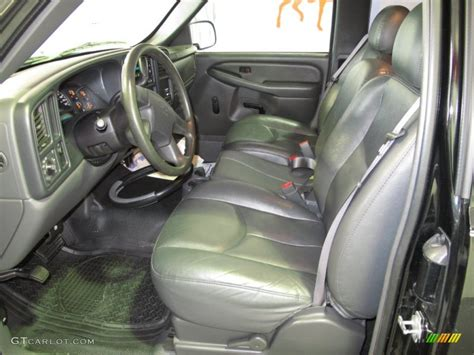 dark charcoal interior  chevrolet silverado  lt