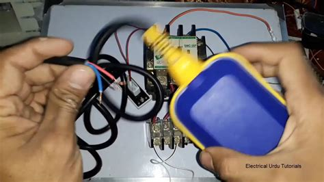3 Wire Electric Float Switch water motor automatic on using float switch urdu