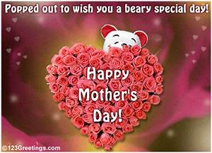 Beary Special Mother's Day! Free Special Moms eCards ...