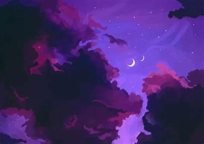 Purple Star Skies