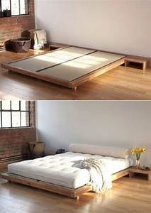 floor bed frames best 25 japanese style bed ideas only on ...