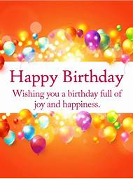 Cute Happy Birthday Wishes Friend