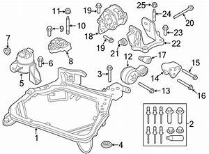 Ford Fusion Engine Mount Bracket  2 5 Liter  Auto Trans  2