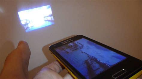 Samsung Galaxy Beam, El Teléfono Con Proyector En Mwc 2012