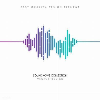 Sound Wave Equalizer Vector Waves Rawpixel Background