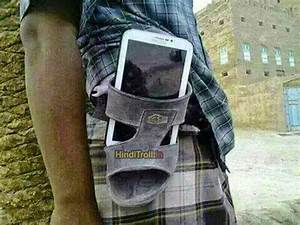 Mobile in Sleeper as Mobile Holder l Desi Indian Funny ...