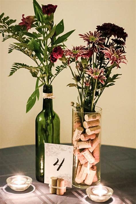 ideas  wine cork centerpiece  pinterest