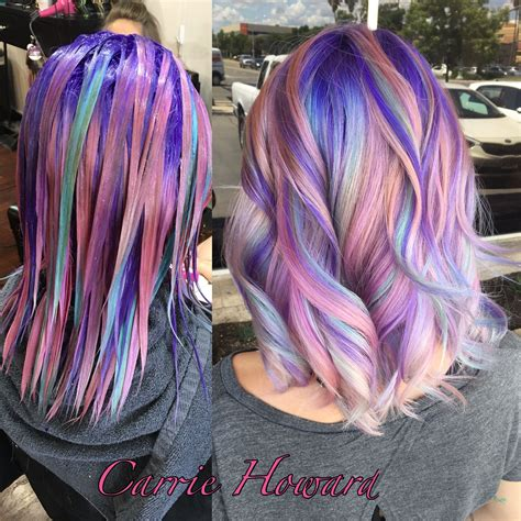Unicorn Hair Hairmakeupnails Hair Pinterest Hair