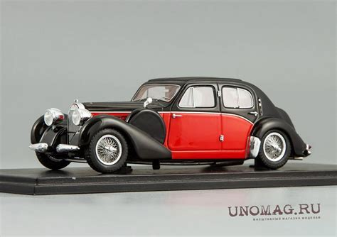 Type 57s were built from 1934 through 1940, with a total of 710 examples produced. BUGATTI 57 Galibier 1939, black / red
