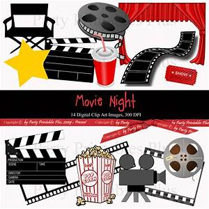 Clip Art Movie Reel And Popcorn | www.imgkid.com - The ...